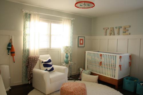 Contemporary Boy's Nursery