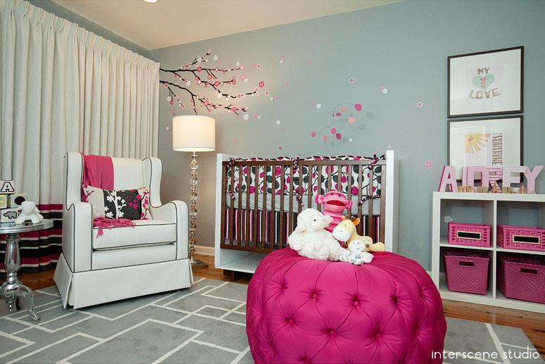Modern Cherry Blossom Nursery Project Nursery