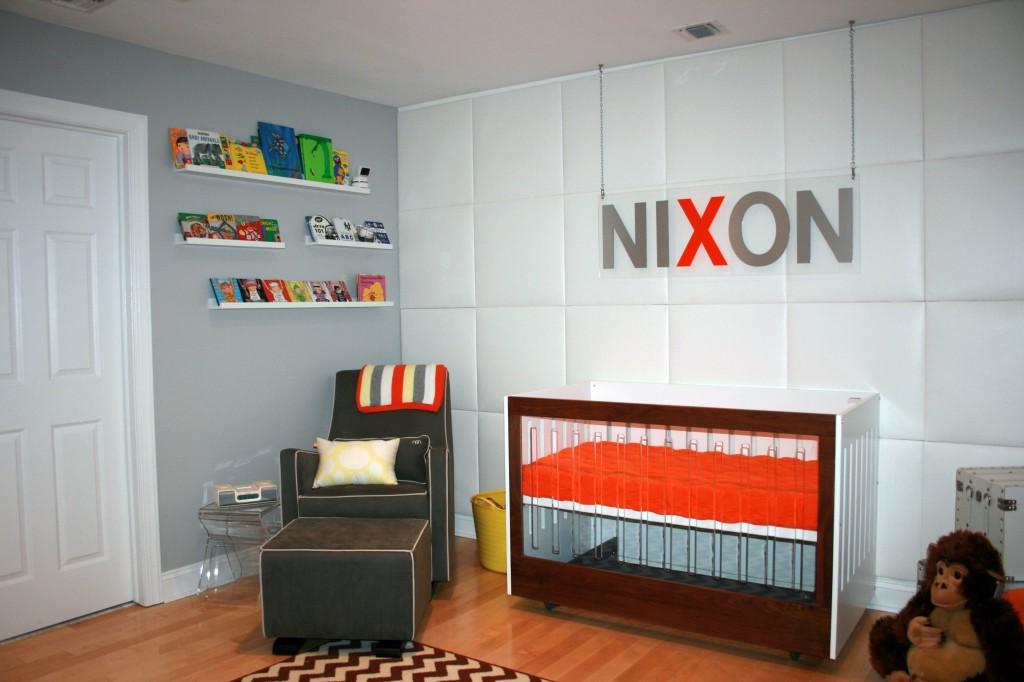 Boho Playroom Wall