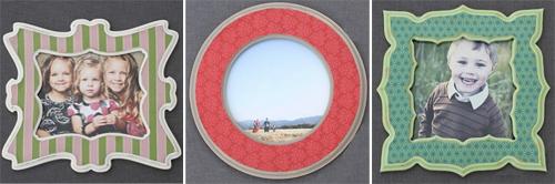 Poppy Tree Frames Pattern Variety