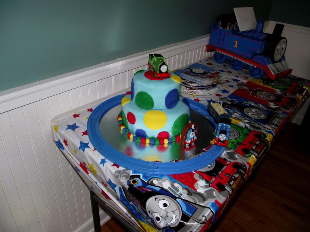 Thomas The Train Birthday Cake Project Nursery