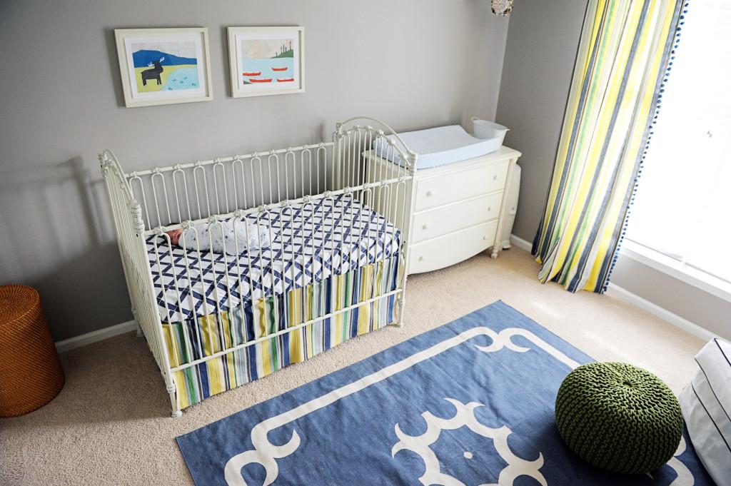 Bennett S Navy And Gray Nursery Project Nursery