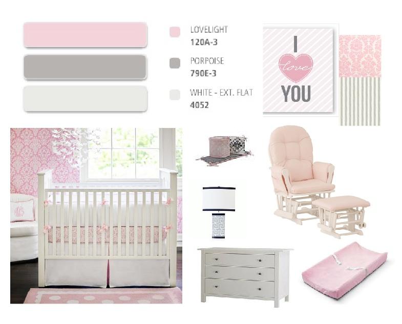 Maya 39 S Pink And Gray Nursery Project Nursery