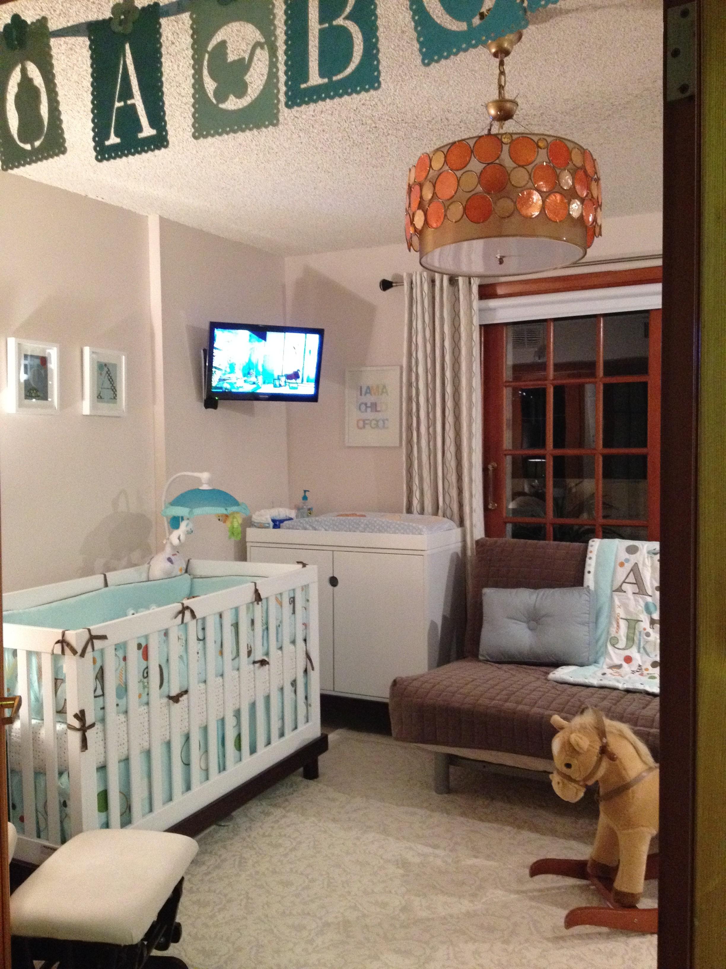 Elegant Baby Boy Nursery: Baby Boy's Neutral Nursery
