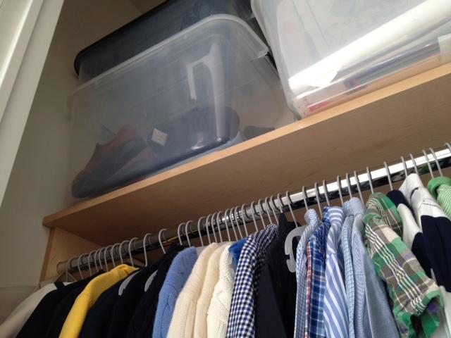 Closet Storage Bins