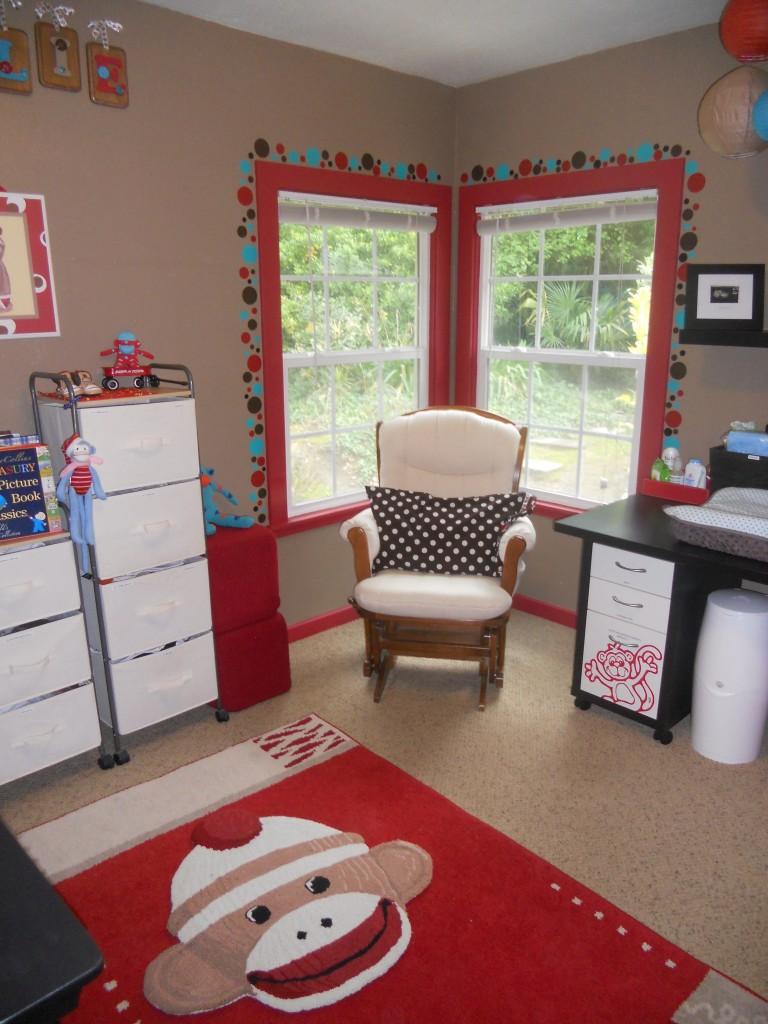 Monkey Nursery Room Decor