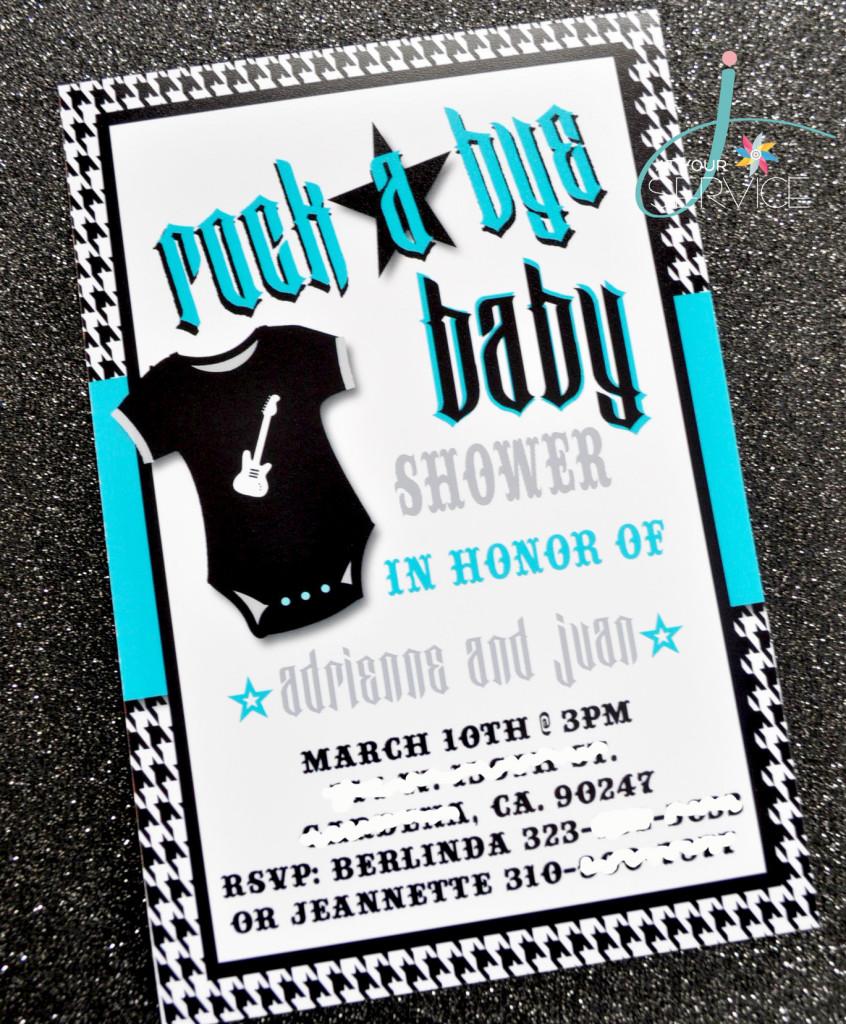 rock a bye baby shower