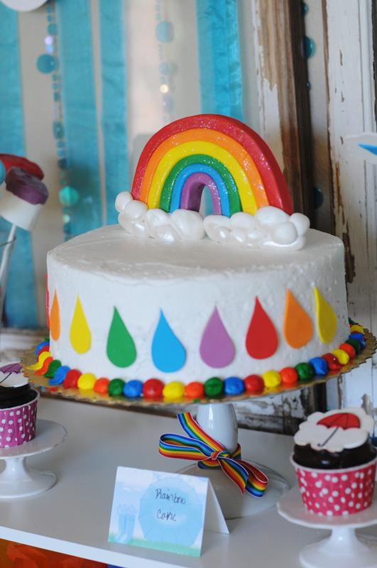 Rainbow Rain Showers Theme Project Nursery