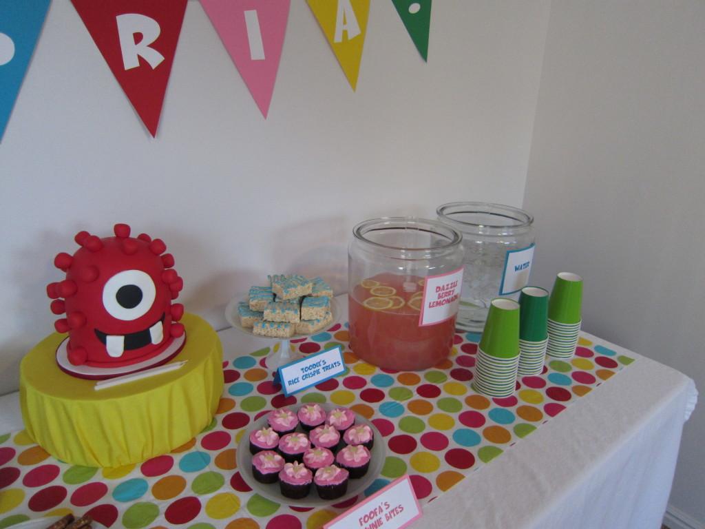 Cambria S Yo Gabba Gabba 2nd Birthday Party Project Nursery