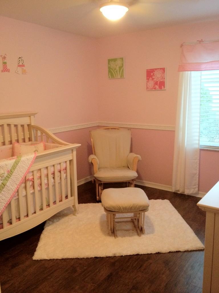 Baby Girl Nursery Butterfly Theme Project Nursery
