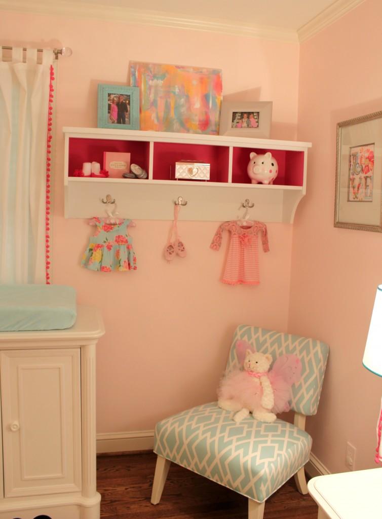Blush Grey And Aqua Nursery For Vivienne Project Nursery