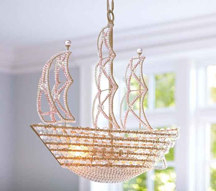 High Vs Low Crystal Ship Chandelier