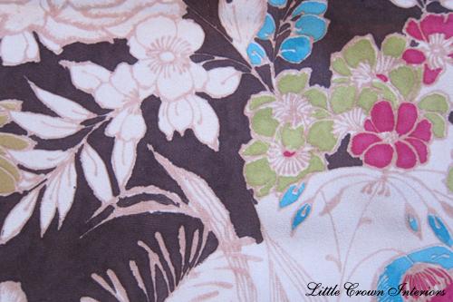 watercolor print fabric