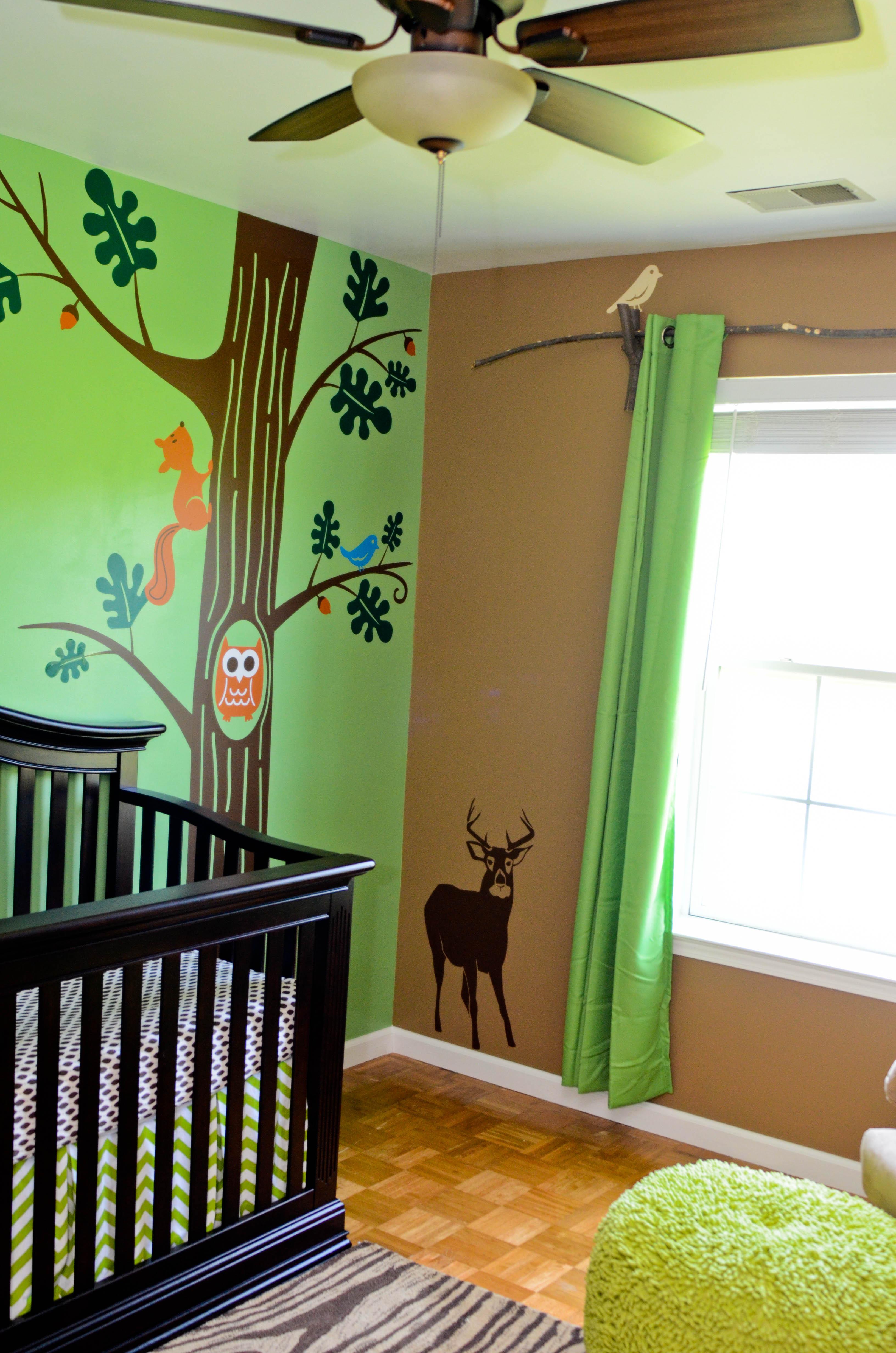 Baby Woods Woodland Themed Nursery Project Nursery