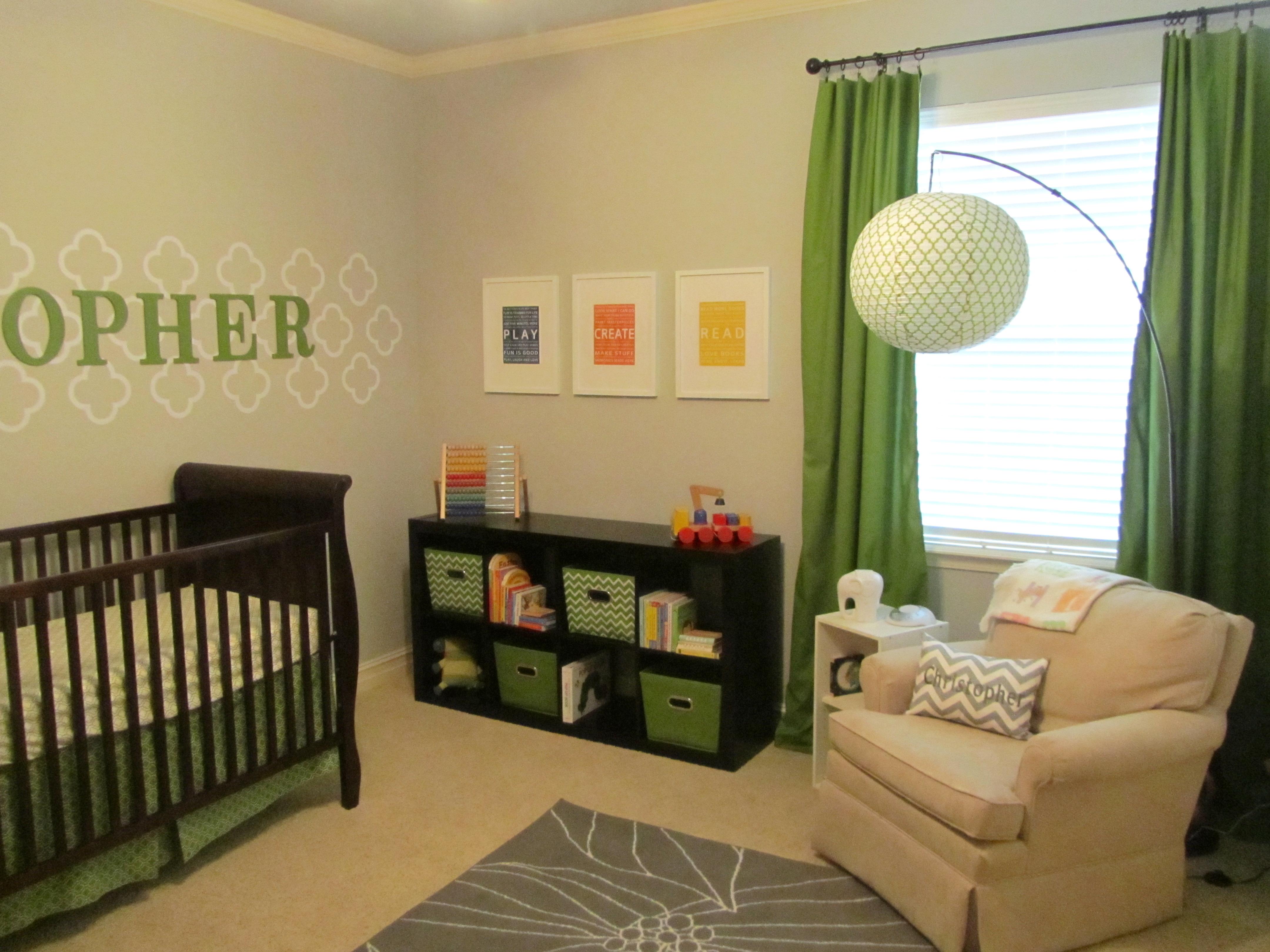 Christopher S Nursery Project Nursery