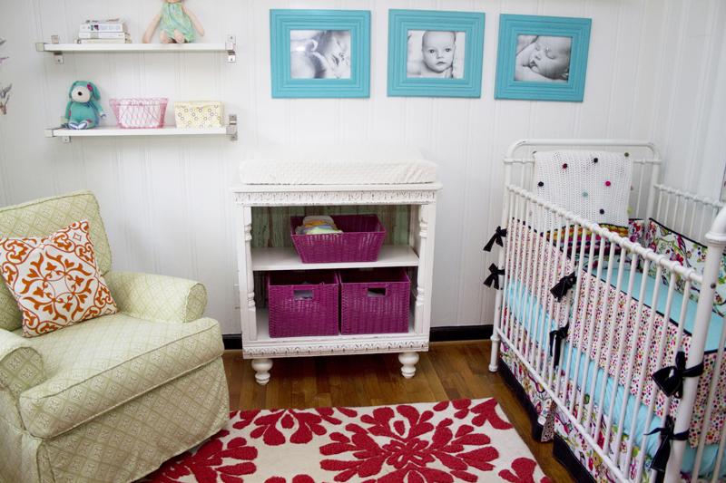 Evyn S Colorful Cottage Nursery
