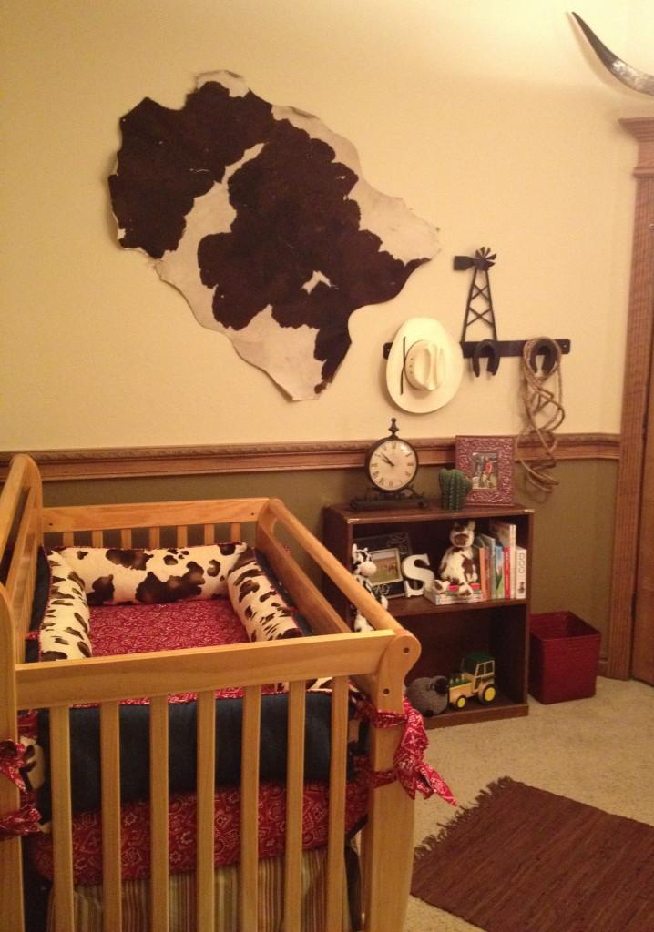 Cowboy Wall Decor Nursery : Cowboy jett s western nursery project