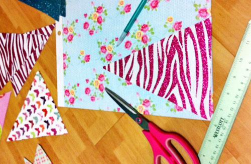 boho room decor diy.htm diy no sew bunting flags  diy no sew bunting flags