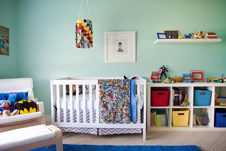 modern superhero nursery project nursery