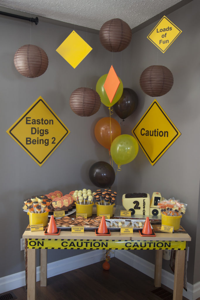 Construction Themed 2nd Birthday 1 19 2