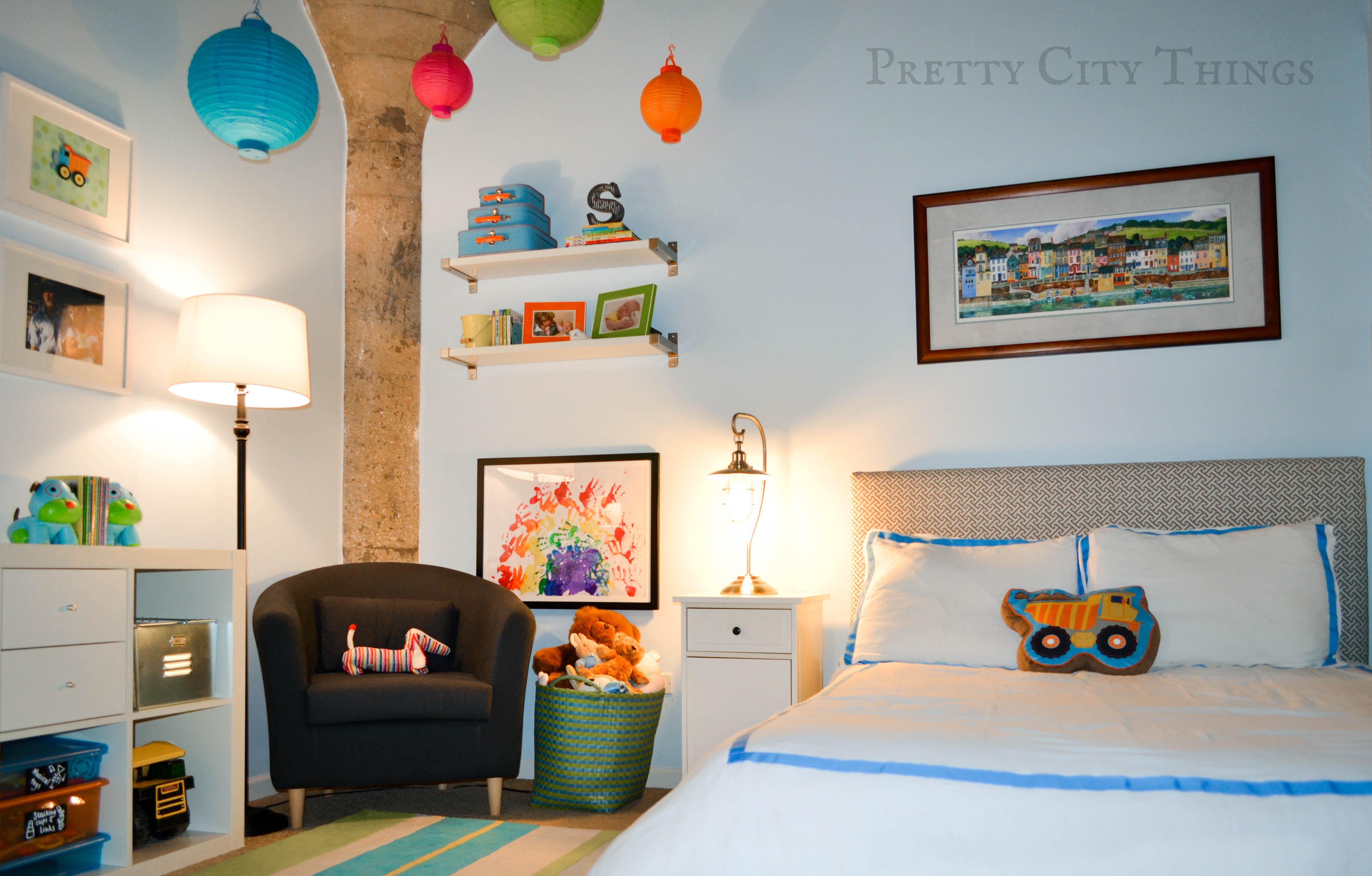 sebastians colorful big boy room project nursery - Colorful Boys Room