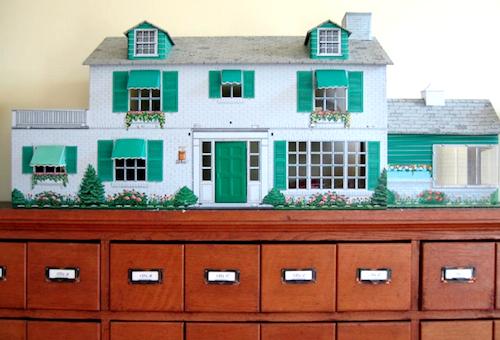 Tiny Tin Dollhouses A Retro Nursery Accessory