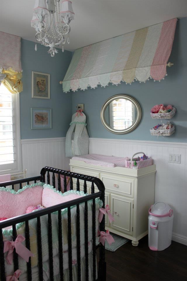 Victoria S Shabby Chic Nursery Project Nursery