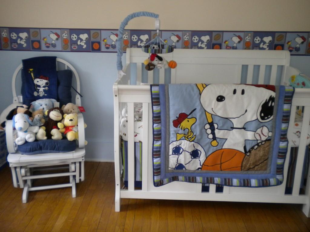 Eli Matthew S Snoopy Themed Nursery