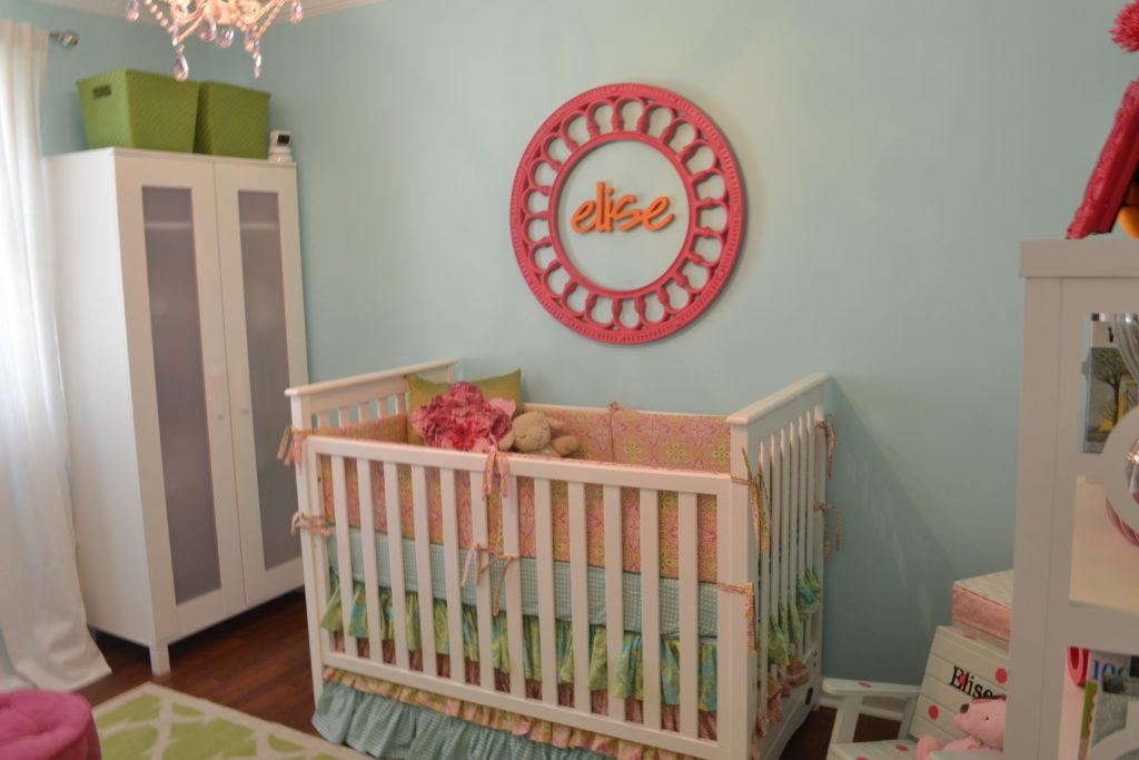 Turquoise Pink Orange Amp Green Nursery Project Nursery