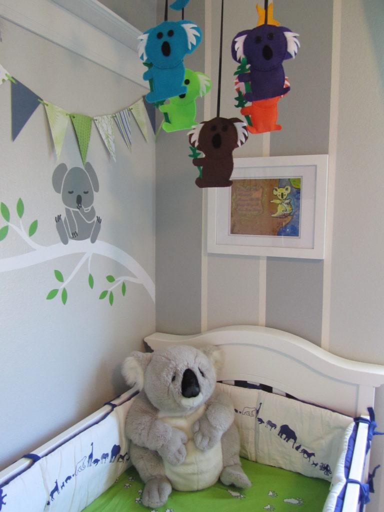Koala Theme Nursery Project Nursery