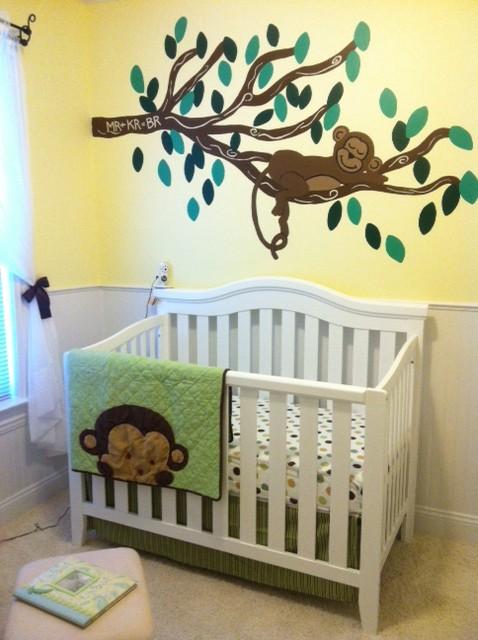 Baby Ryan S Monkey Nursery Project Nursery