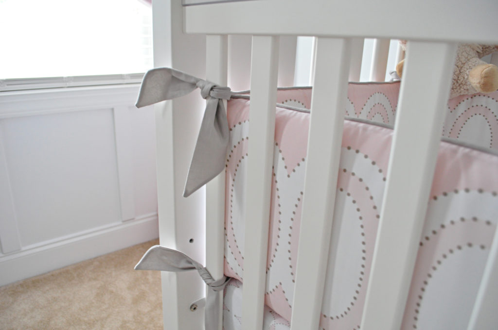 Colette Collection Crib Bumper from Serena & Lily