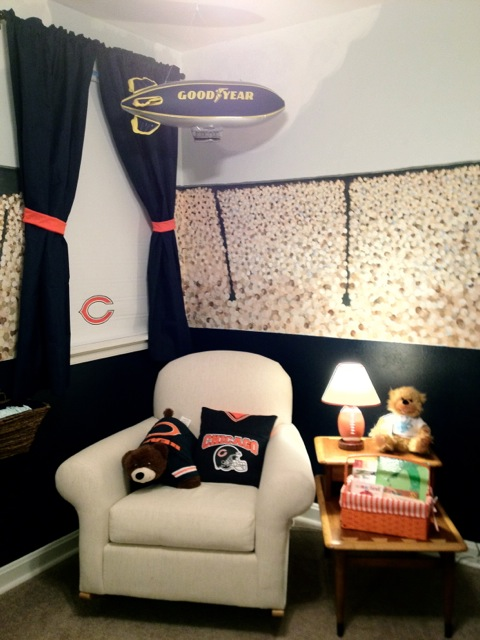 Chicago Bears Stadium Nursery Project