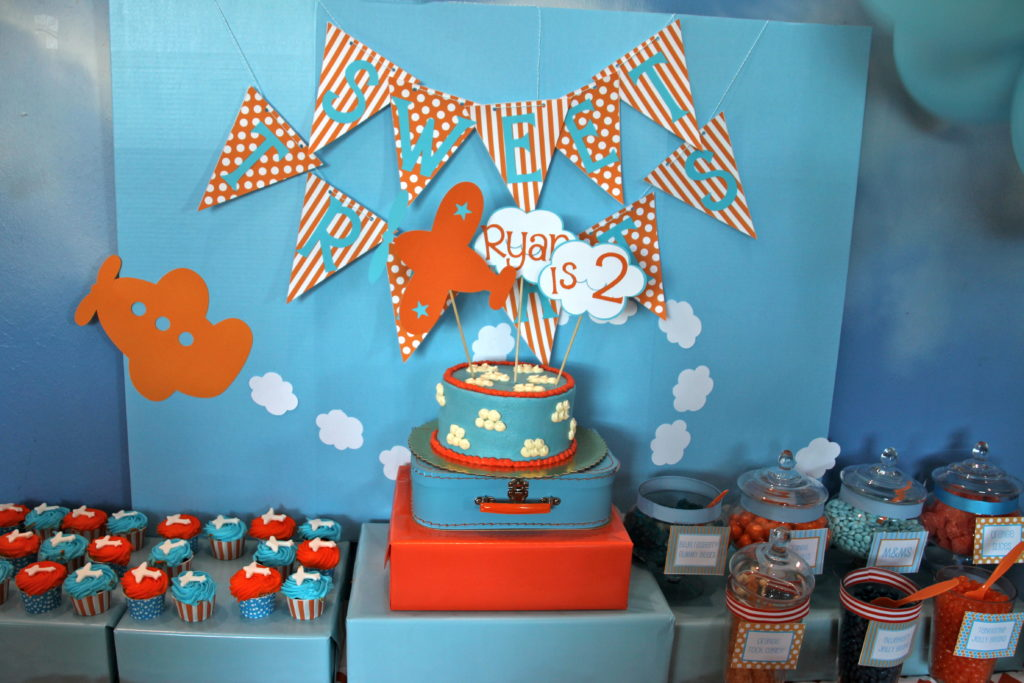 Airplane Birthday Party Project Nursery