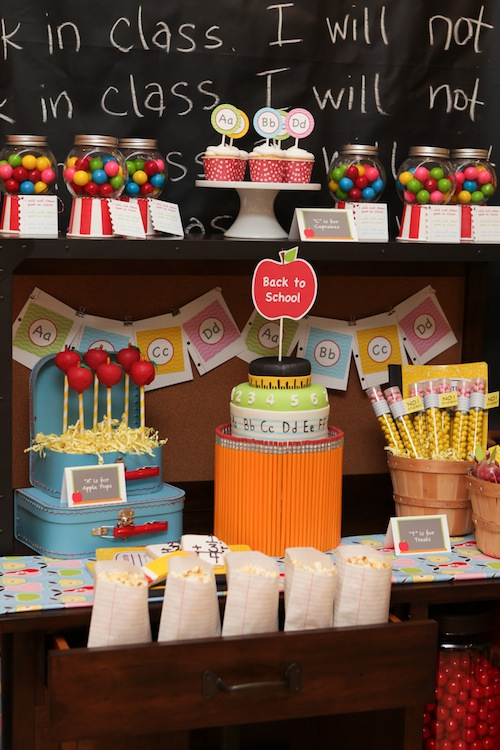 Pottery Barn Kids Back to school party