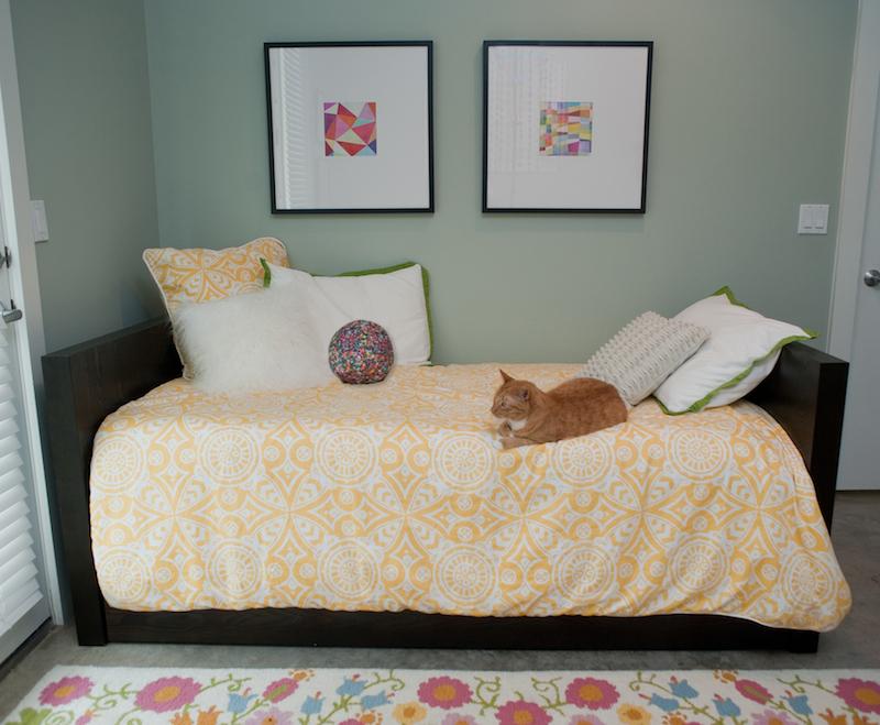 Colorful Nursery Guest Room Project Nursery