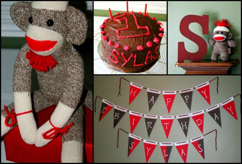 Sylas\'s DIY \'Sock Monkey\' 1st Birthday Party - Project Nursery