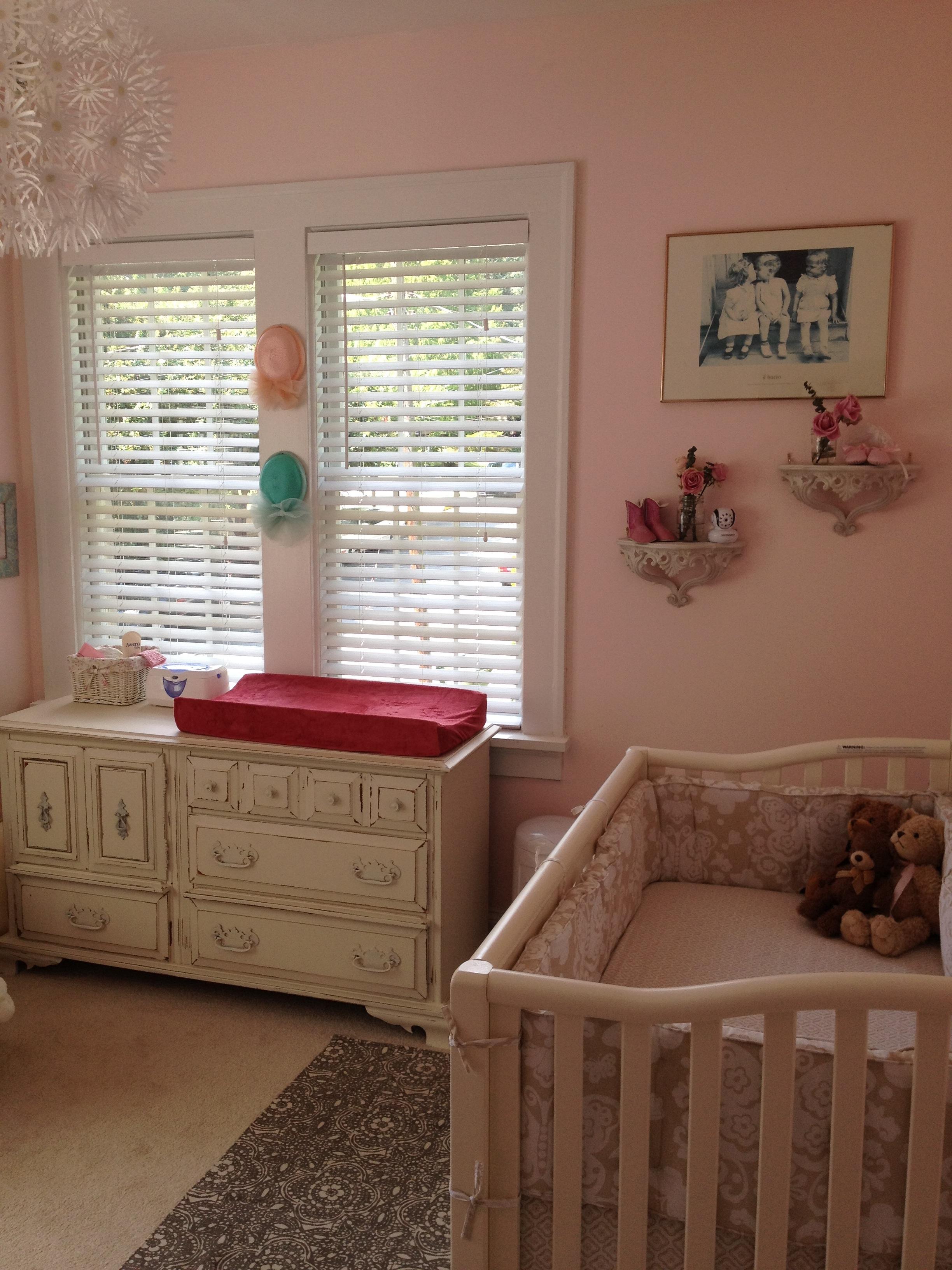 Raegan S Shabby Chic Nursery Project Nursery