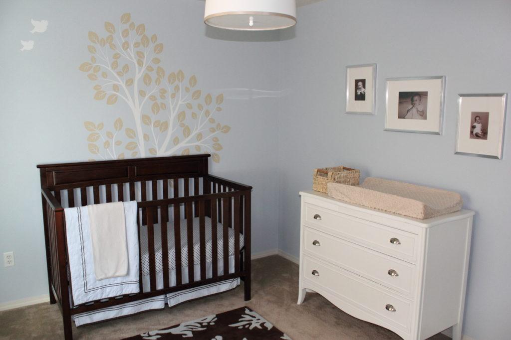 Noa Michael S Blue Brown And Cream Nursery Project Nursery