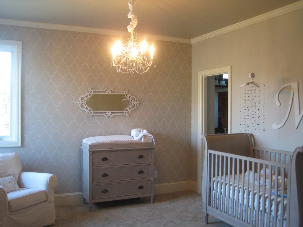 Gray And Cream Baby Girl S Nursery Project Nursery