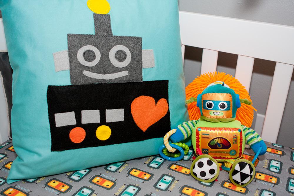 Robot nursery project nursery for Robot bedroom