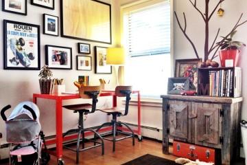 Homework workspaces for children