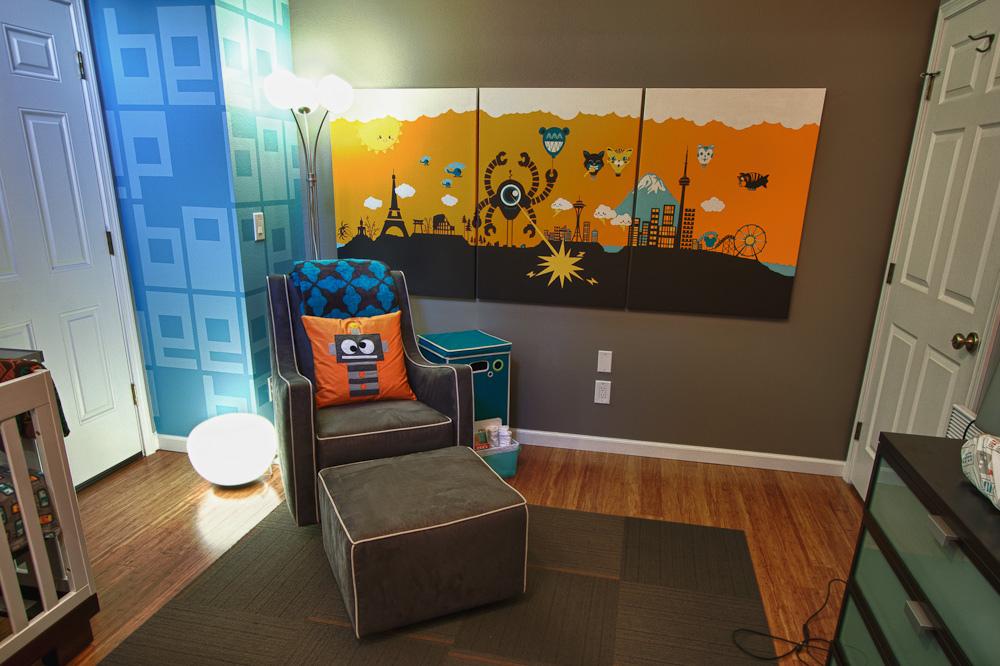 Classroom Decor Inspiration ~ Robot nursery project