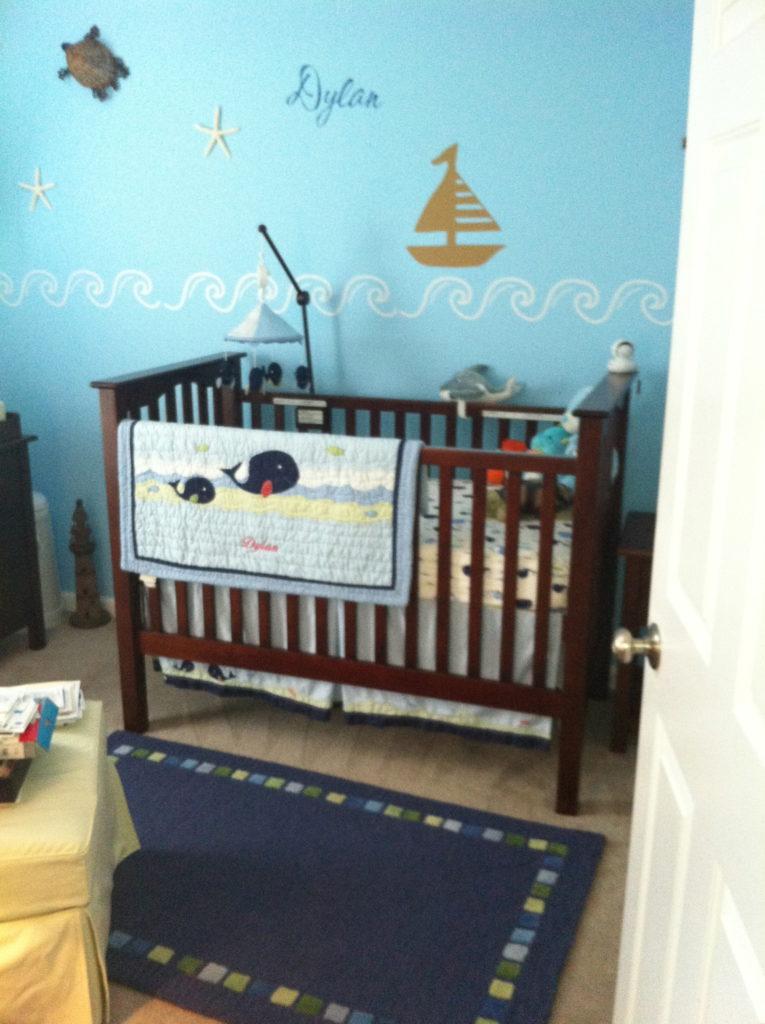 Baby Nash S Vintage Nautical Nursery: Dylan's Nautical Nursery