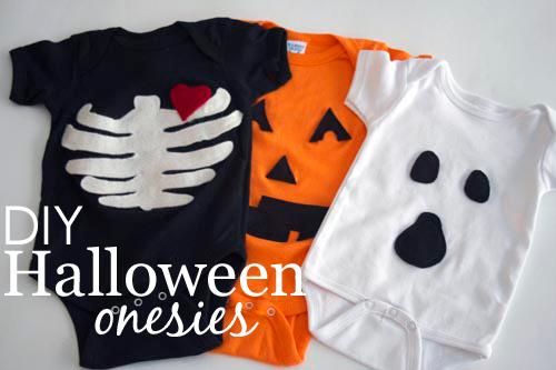 Diy Halloween Onesies