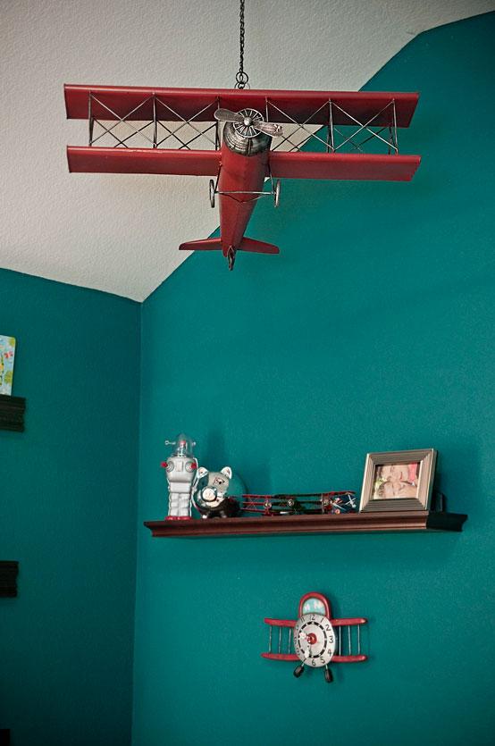 Henry's Vintage Airplane Nursery - Project Nursery