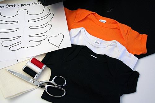 Halloween T Shirt Ideas Diy.Diy Halloween Onesies