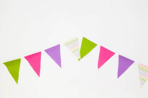 Popular DIY: Chic Pennant Banner AA22