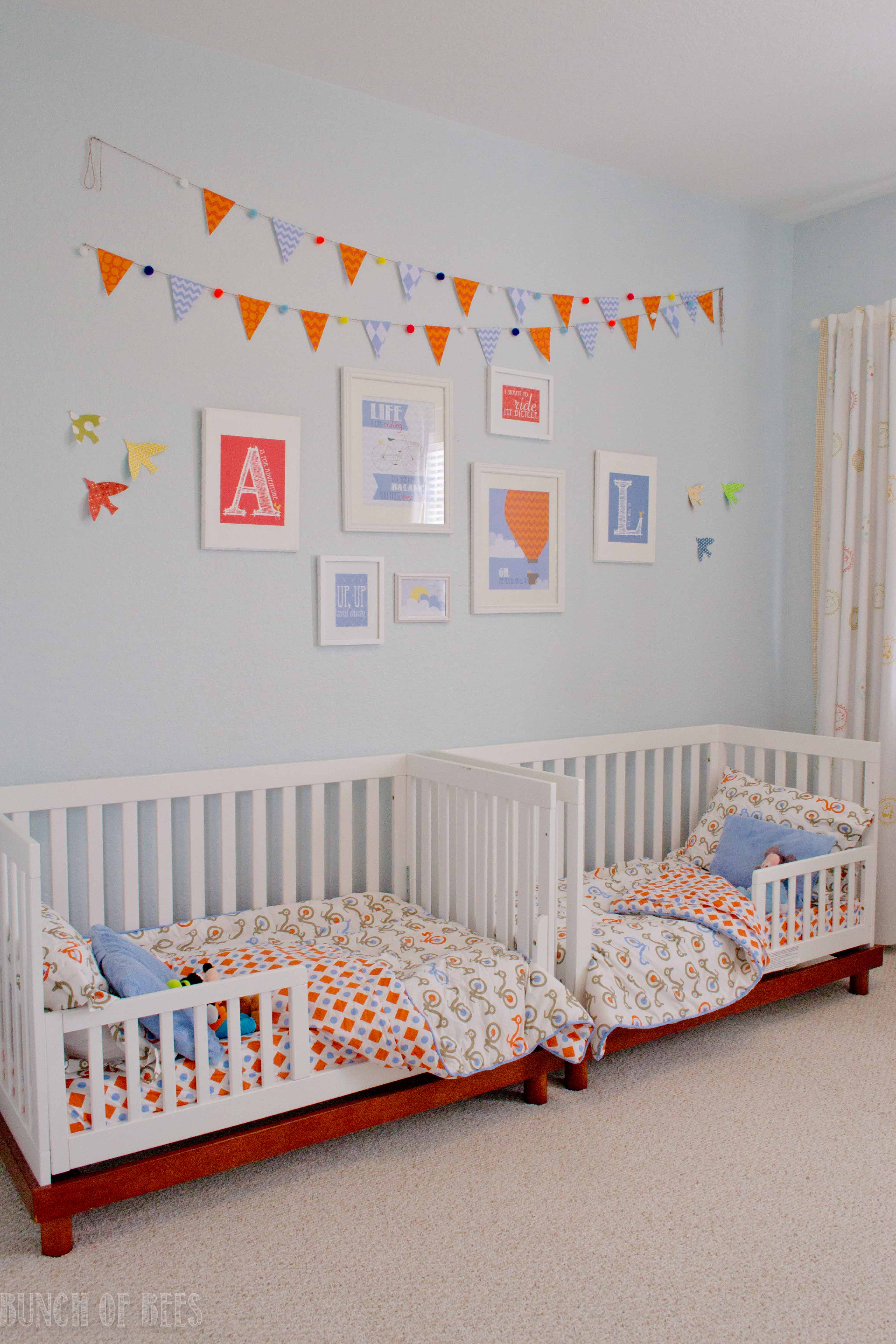 Crib Bedding Baby Boy Rooms: Twin Boys Toddler Room