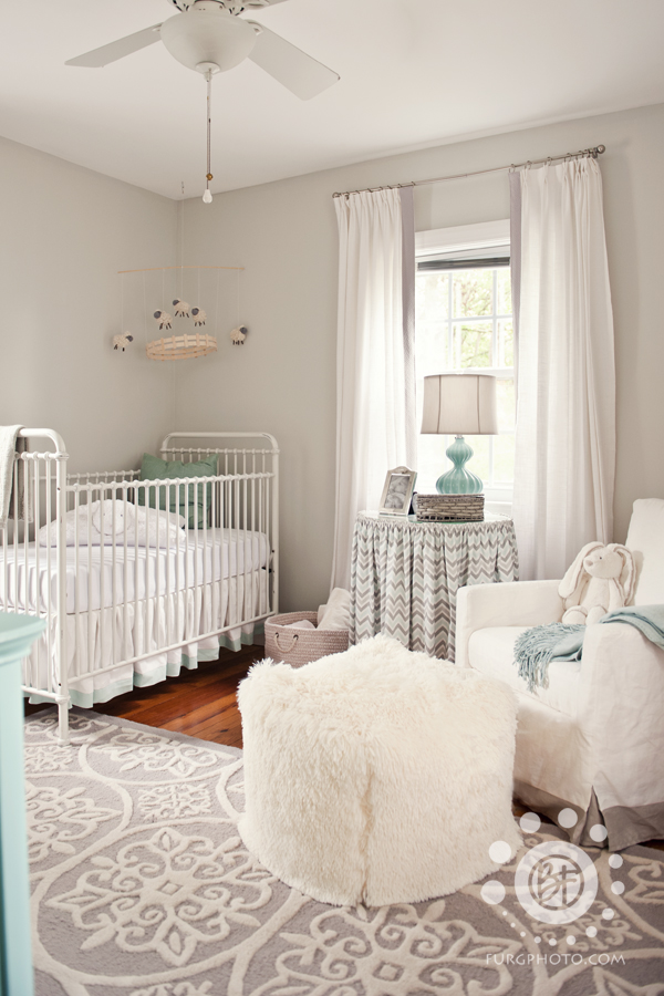 Grey and White Neutral Nursery - Project Nursery